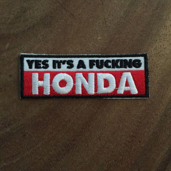 Honda Fireblade Motorbike Motorsport Embroidered Sign Applique Costume Gift Give Away /… Iron on Patch Biker Patch Motorcycles