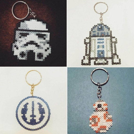 Porte clef Mini Hama Star Wars