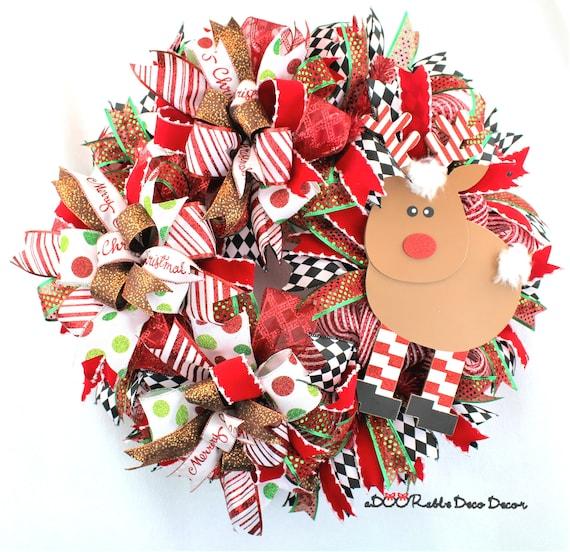 image 0 - Large Reindeer Christmas Decorations