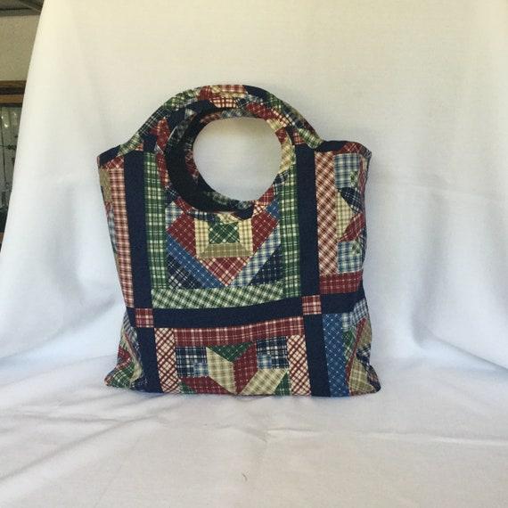 Sac patchwork sac Shopping/épicerie/marché des sacs/cabas/sac/sac à main en tissu/sac sac/salle de Gym de plage