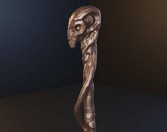 Alastor Mad-eye Moody walking stick - STL files for 3D printing