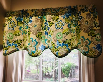 Tropical Valance Etsy