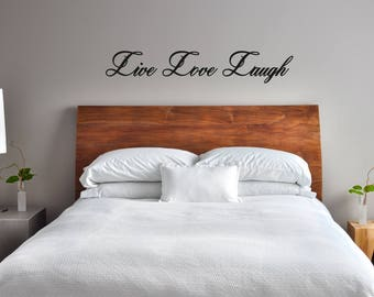 Live Love Laugh Wall Sticker Quote