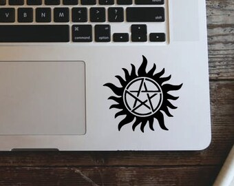 Supernatural Logo Laptop Sticker