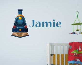 Custom Train Nursery/Kids Wall Sticker