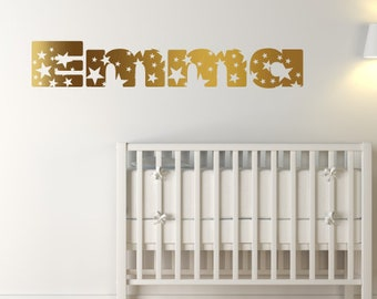 Custom Star Name Wall Sticker