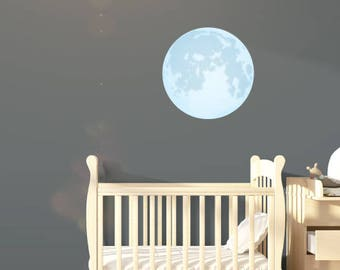 Moon Wall Decal Sticker