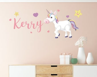 Custom Unicorn Wall decal Sticker