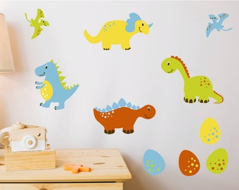 Dinosaur Set Nursery Wall Stickers