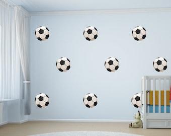 8 Football Wall Stickers