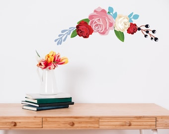 Peony Flower Wall Sticker