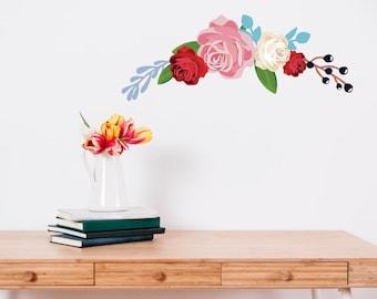Peony Flower Wall Sticker
