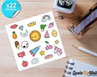 Unicorn Planner/Journal Stickers