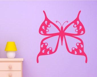 Butterfly Wall Decal/Wall Art Sticker - Vinyl Girls/Nursery Wall Decal, Wallpaper, Mural Christmas Gift