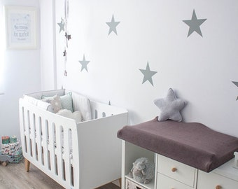 12 Extra Large Star Wall Stickers