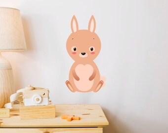 Bunny Rabbit Children's Wall Sticker
