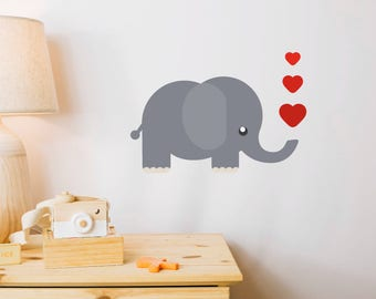 Elphant Wall Decal Sticker
