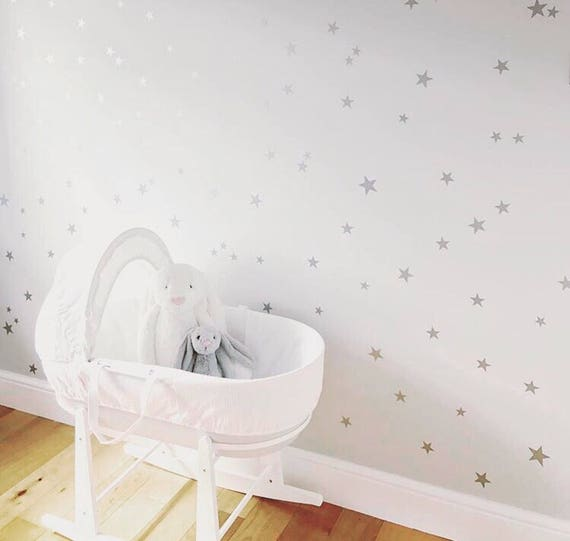 star wall stickers star wall decals nursery wall stickers | etsy