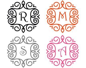 Monogram Initial Sticker