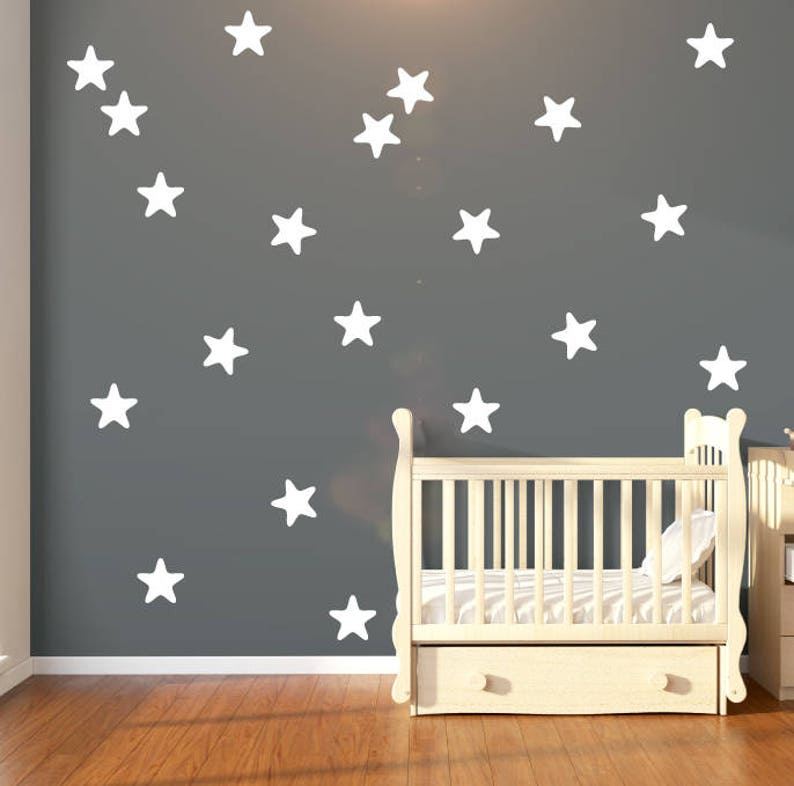 30 large star fish shape star wall stickers star wall decals | etsy