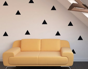 100 Triangle Wall Stickers, Decoration Confetti, Wall Decals, Vinyl, Envelope, Car, Office, Home, Nursery Wallpaper, Wedding Christmas Gift