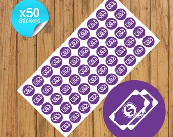 50 Payday Planner Stickers