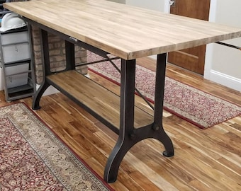 Custom Made Industrial Table Or Desk
