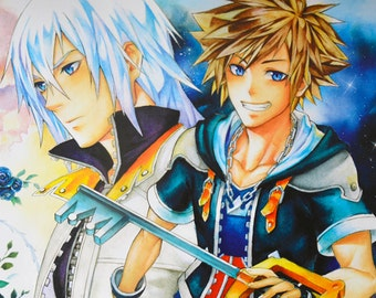 Riku & Sora (Kingdom Hearts) - Large