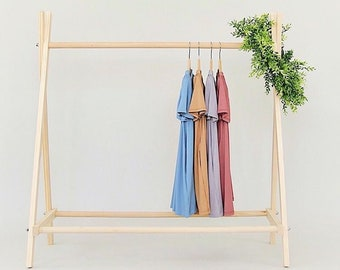 Kids Clothing Rack Etsy