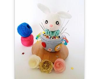 Twist le lapin blanc - Tutoriel PDF - Crochet - Amigurumi - Fan-Art