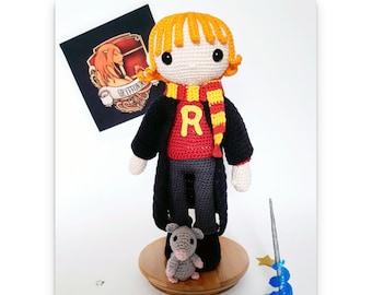 Poupée d'inspiration RW - Poupée au crochet - Patron au crochet - Fichier PDF - Explications FR- Crochet - Amigurumi - Fanart