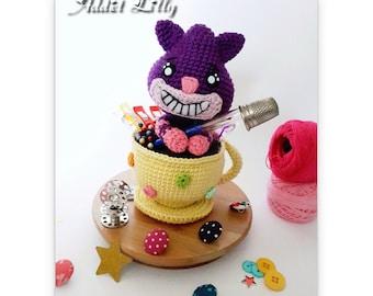 Chester le chat - Tutoriel PDF - Crochet - Amigurumi - Fanart