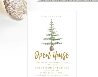 Christmas Open House 2021 Holiday Open House Etsy