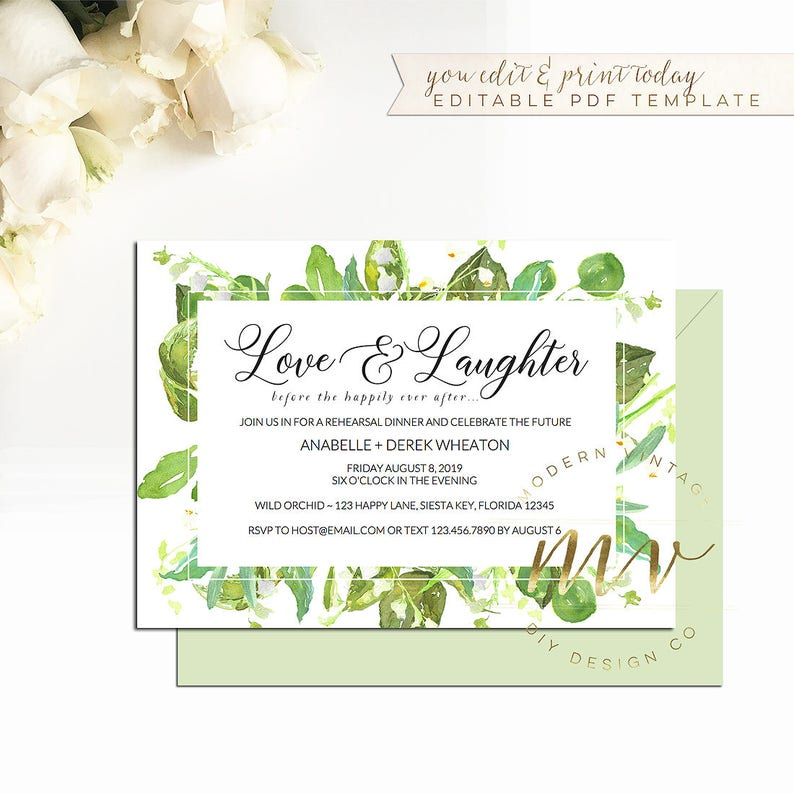 014462b7553a Love   laughter before the happily ever after Invitation