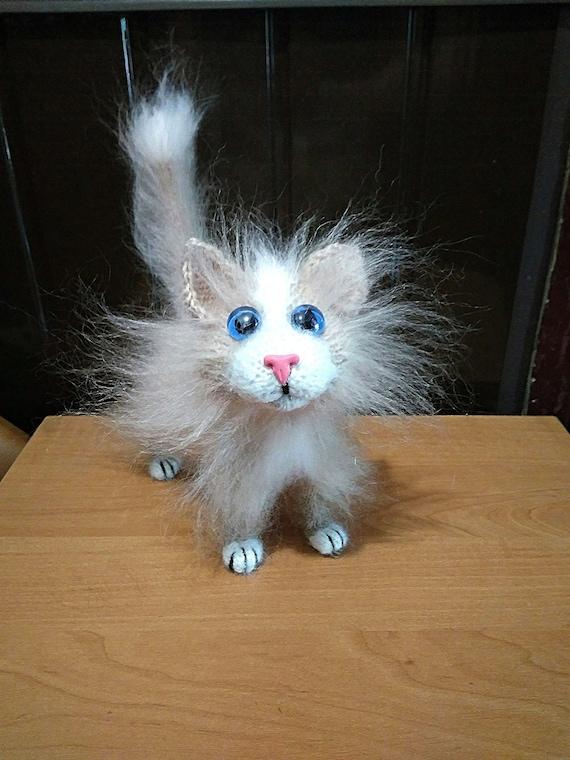 Red Cat Stuffed Animal Plush Cat Kitten Europeanstreetteam Etsy