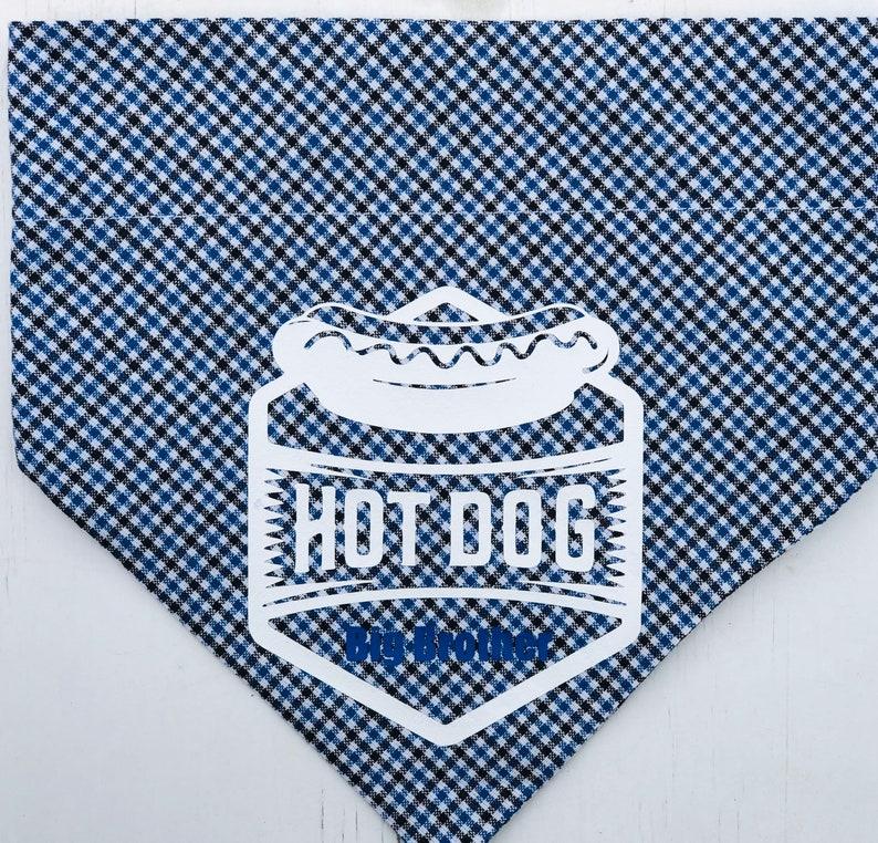 Send a logo or a picture to be added to any dog bandana Design your own bandana Custom Dog Bandana