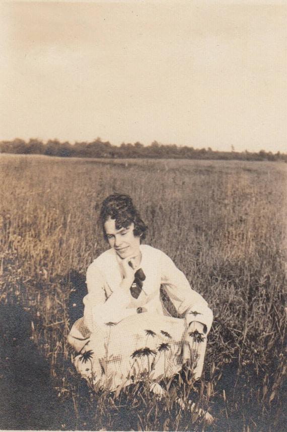 Original Antique Photograph Ellen