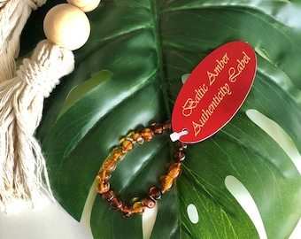Amber Baby Bracelets / Anklets, Baby Teething Bracelets, Amber Jewelry, Baltic Amber, Baby Accessories