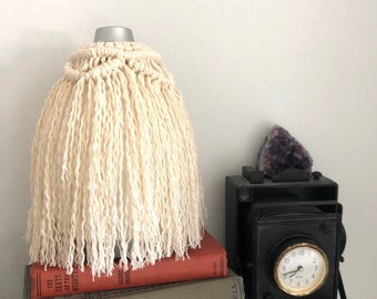 Handmade Macrame Diffuser Cover with Wood beads.