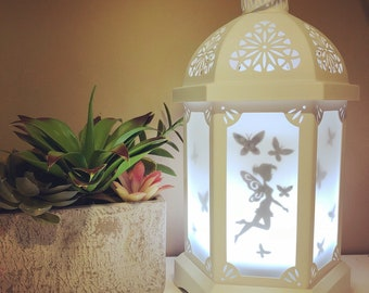 Vinyl Decal for a lantern Diffuser, Lamp/Lantern, Fairy decal