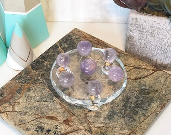 Crystal Grid Set, Kit includes Glass Grid or Stand.
