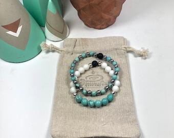Turquoise Aroma Bracelet Set