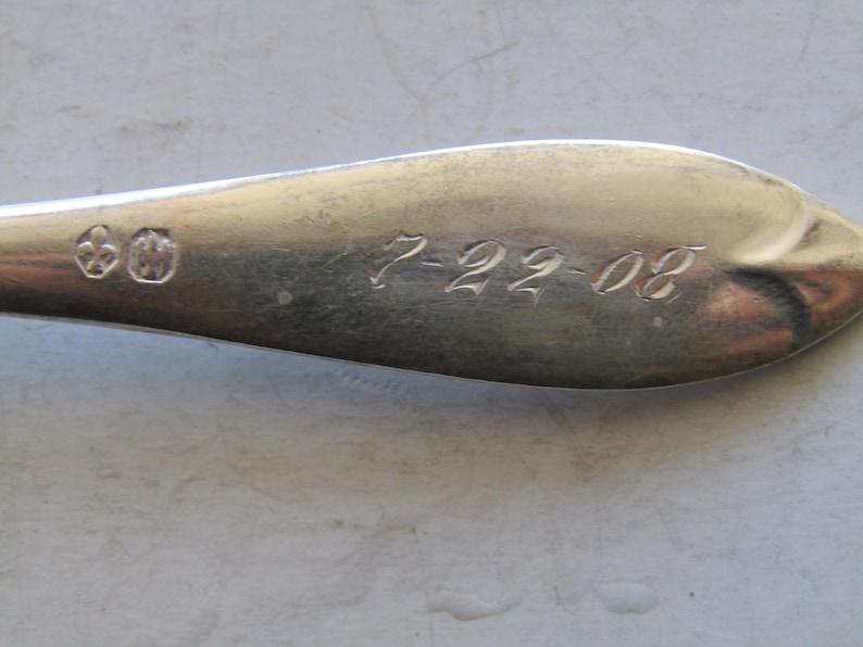 Child/'s Sterling Spoon M monogram