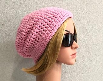 Handmade oversized hat Pastel handmade hat Pastel oversized hat Crochet hat Pastel hat Pastel Blue Crochet Slouchy Hat