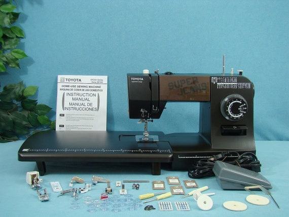 Heavy Duty Toyota J34 Sewing Machine Sews Leather Upholstery Etsy