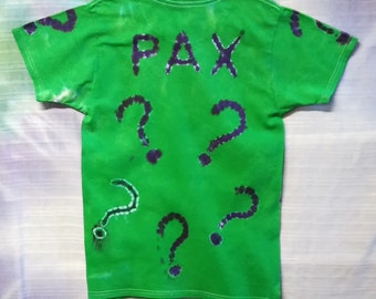Personalize A Tie Dye Shirt - ADD Unique Lettering to ANY Made to Order Shirt