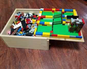 Lego Storage Box - By the 11 year old toy maker