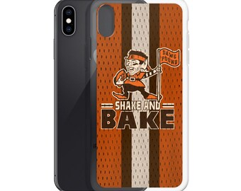 Shake and Bake - Baker Mayfield - Flag Plant - Cleveland Browns Inspired -  iPhone Case 7911cdc87