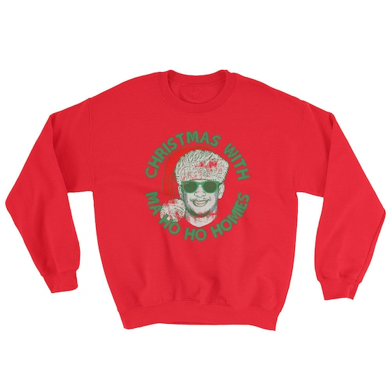 newest 0d21c 30231 Christmas With Ma Ho Ho Homies - Patrick Mahomes Chiefs Ugly Sweater  Inspired - Unisex Sweatshirt