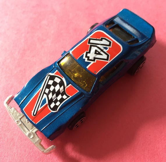 1977 Ideal Stuntsquad 14 Race Car Made In Macao Die Cast